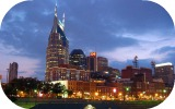Nashville skyline from General Jackson
